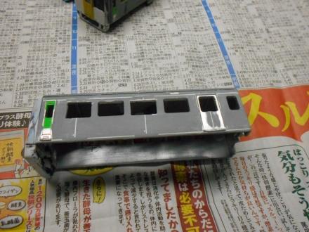 改造プラレール キハ187系スーパーおき制作記 その6