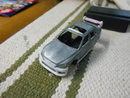 改造トミカ? トヨタアルテッツァ(SXE10)を作る
