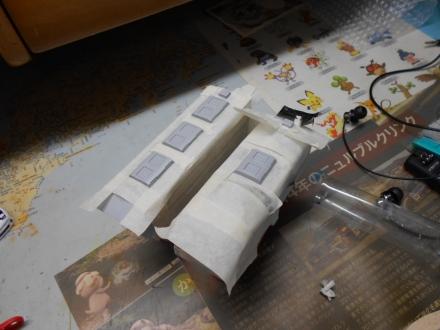 改造プラレール阪急8000系増結編成を作る 完成