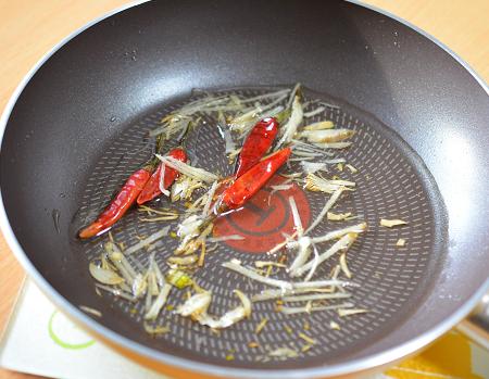 甜麺醤炒め準備4