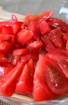 トマト卵炒め3