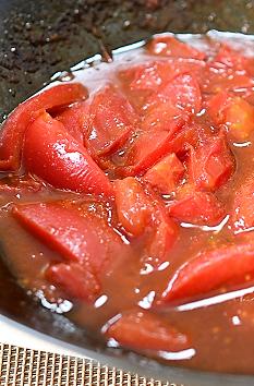 トマト卵炒め4