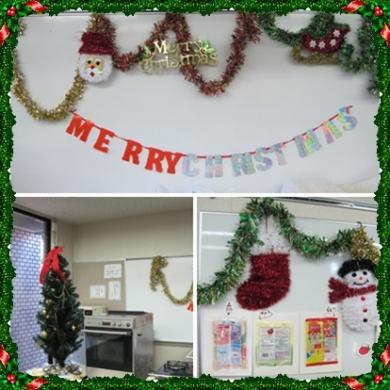 クリスマス会①