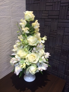 生花(白)フラワーセラピー