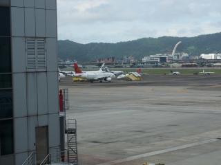 トランスアジア航空機