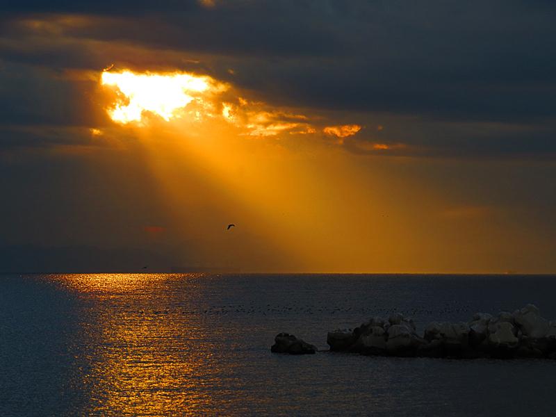 14112朝の薄明光線2