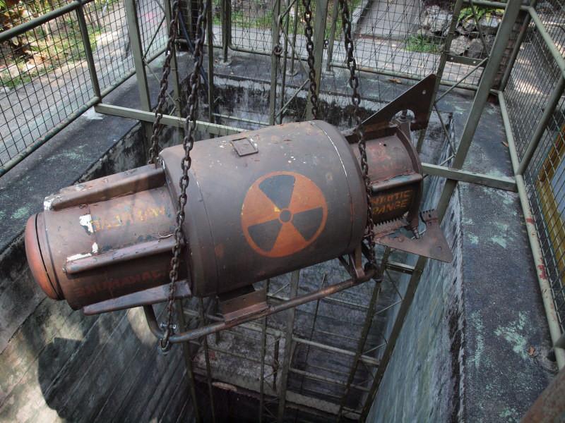 原爆の模型
