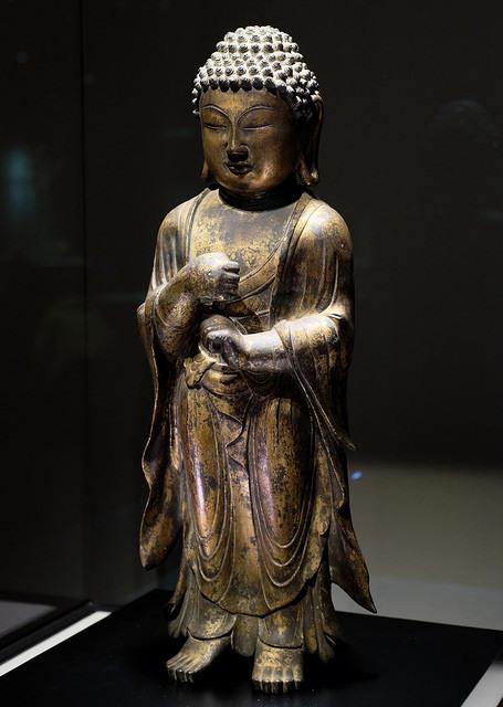 小倉004 毘盧舎那仏立像9~10C