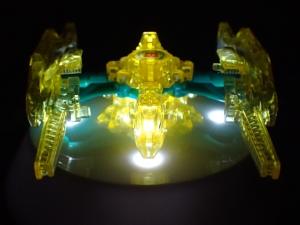 トランスフォーマー アドベンチャー TAV61 ゴッドオプティマスプライム マイクロン超合体セットで比較041