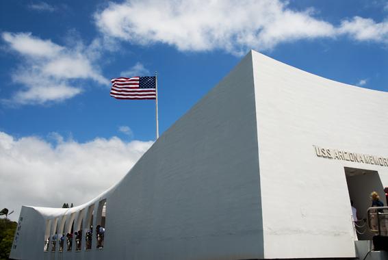 アリゾナ記念館