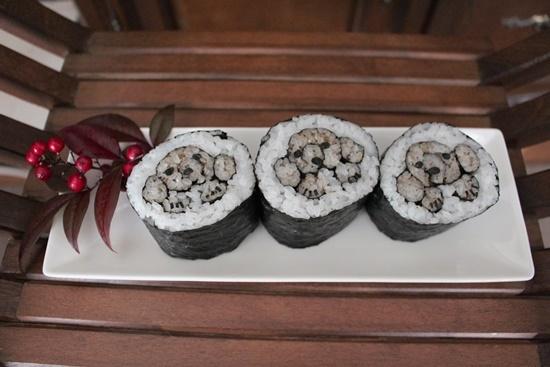 プードル巻き寿司