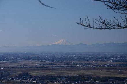 三毳神社から富士山1