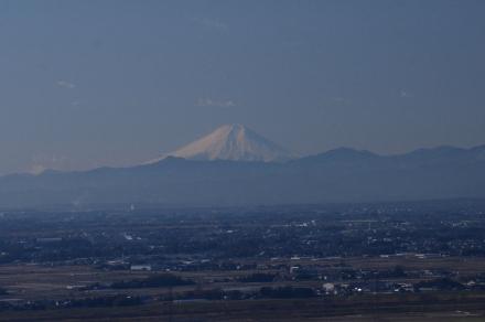 三毳神社から富士山2