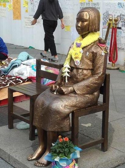 韓国 慰安婦像