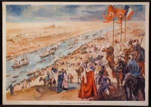 スエズ運河開通
