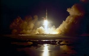 アポロ17号打ち上げ