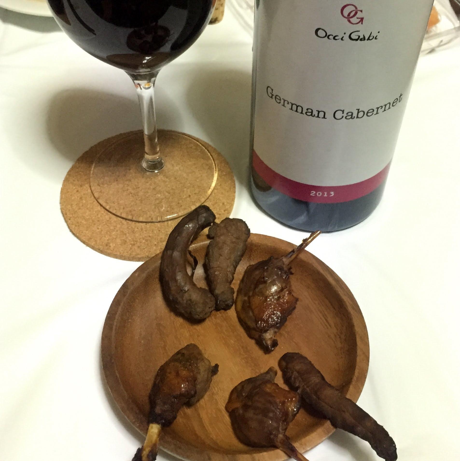 コガモの燻製と赤ワイン[2016年11月]