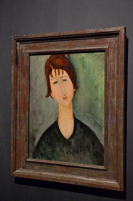 モディリアーニ 女の肖像