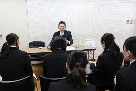 15★白井さん 集団模擬面接