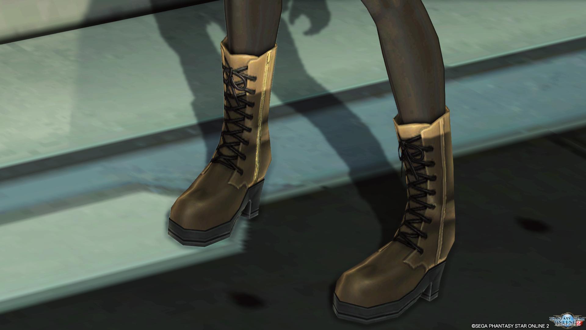 秀尽学園杏制服 靴