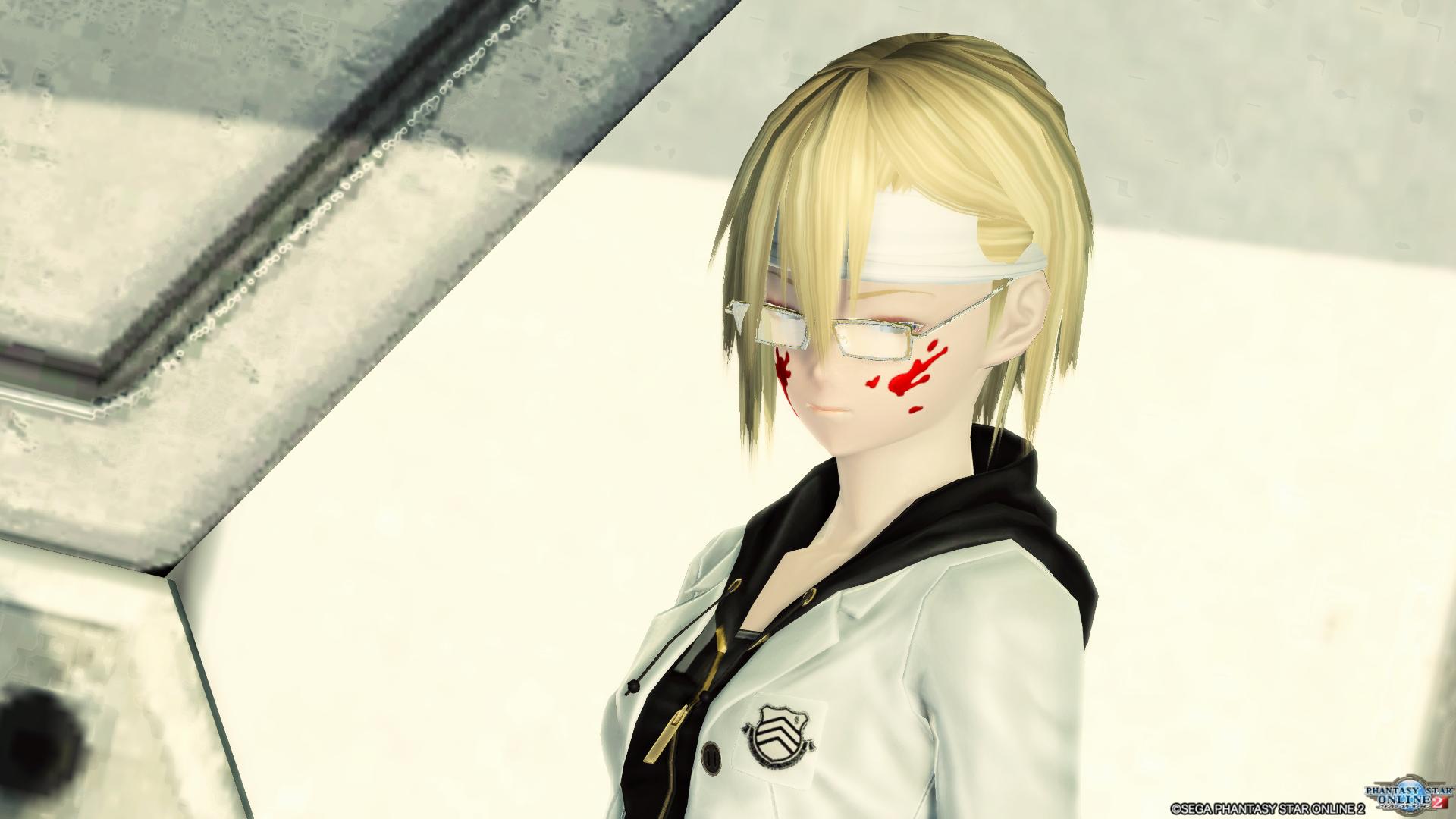 秀尽学園杏制服 こういうメガネを付ける手もあるよ