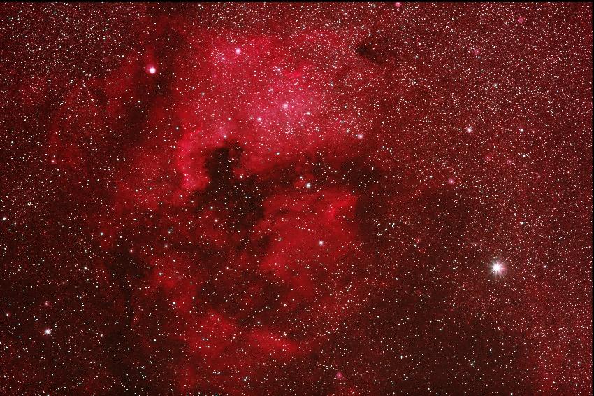 20161023北アメリカ星雲・ペリカン星雲付近b