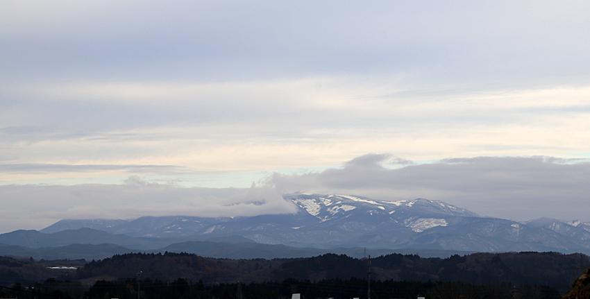 20161124今朝の栗駒山
