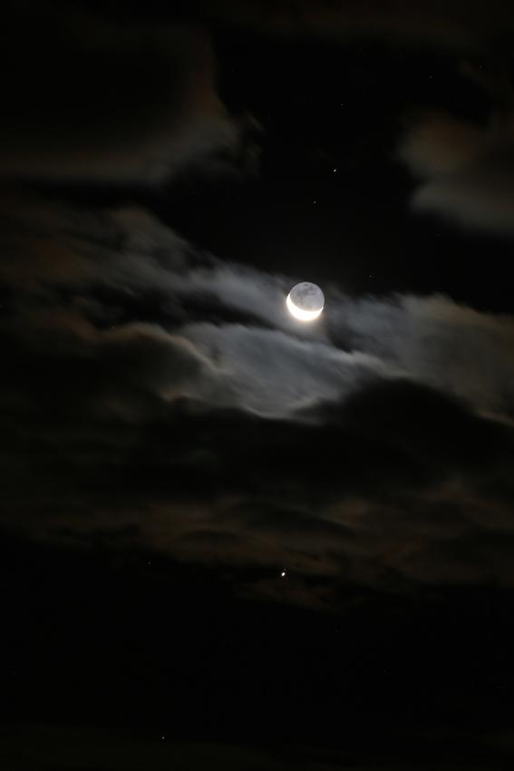 20161125月・スピカ・木星2