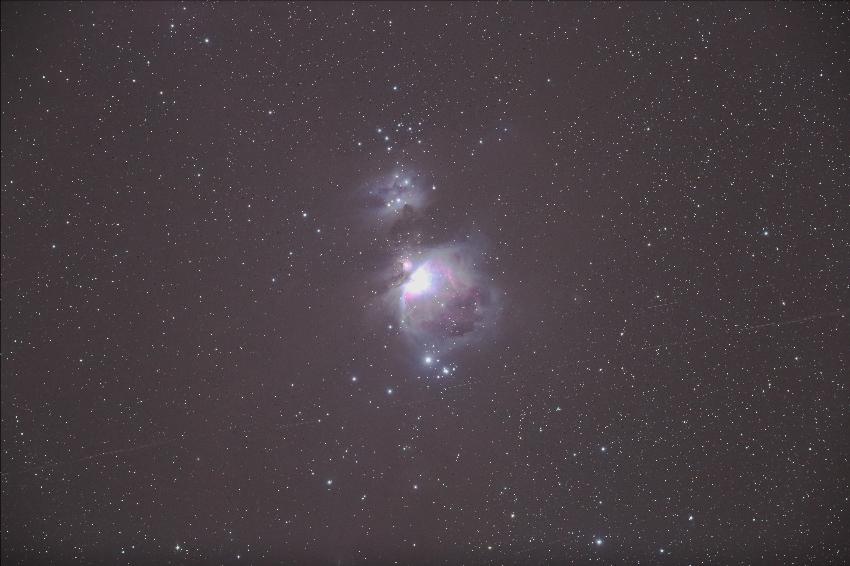 20161124オリオン大星雲(EOS6D)