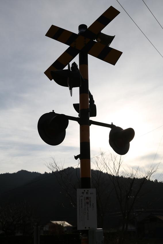20161204矢作駅付近の鳴らない踏切