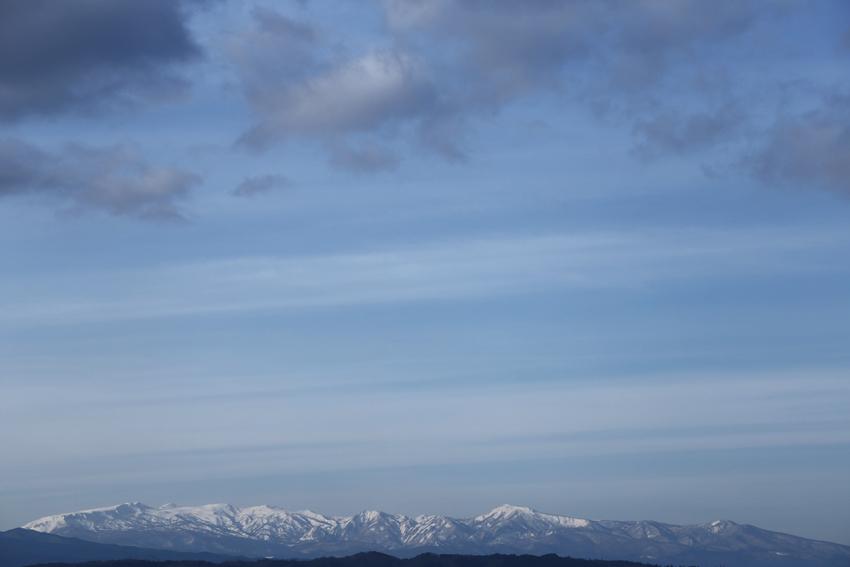 20170108雪の焼石連峰
