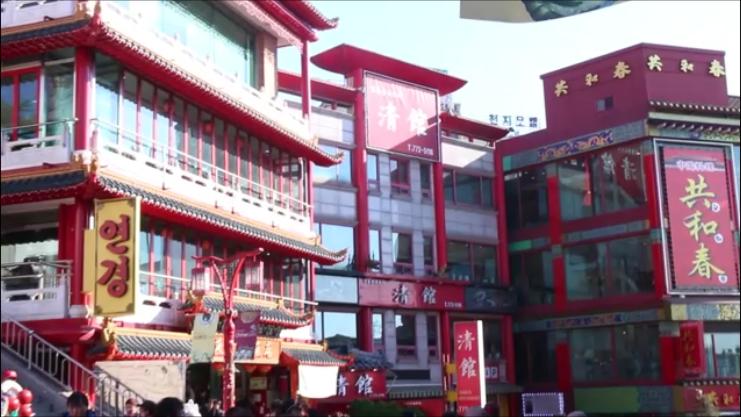韓国 インチョン 中華街 旧日本人街 童話村