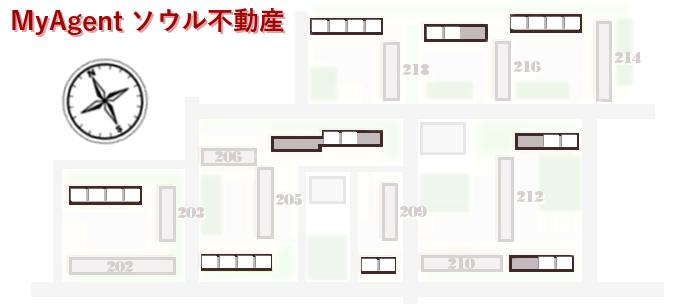 ハンガラムアパート 図面