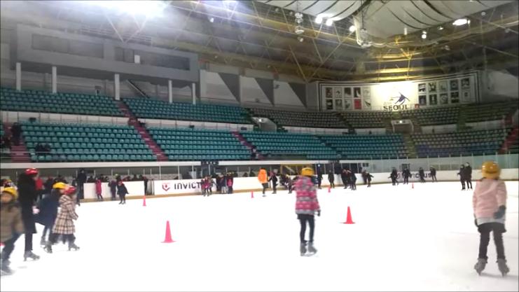 韓国 スケートリンク
