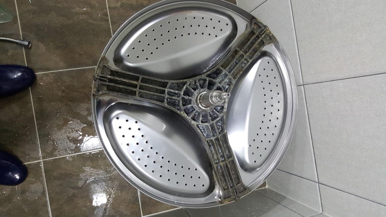 韓国 洗濯機 掃除