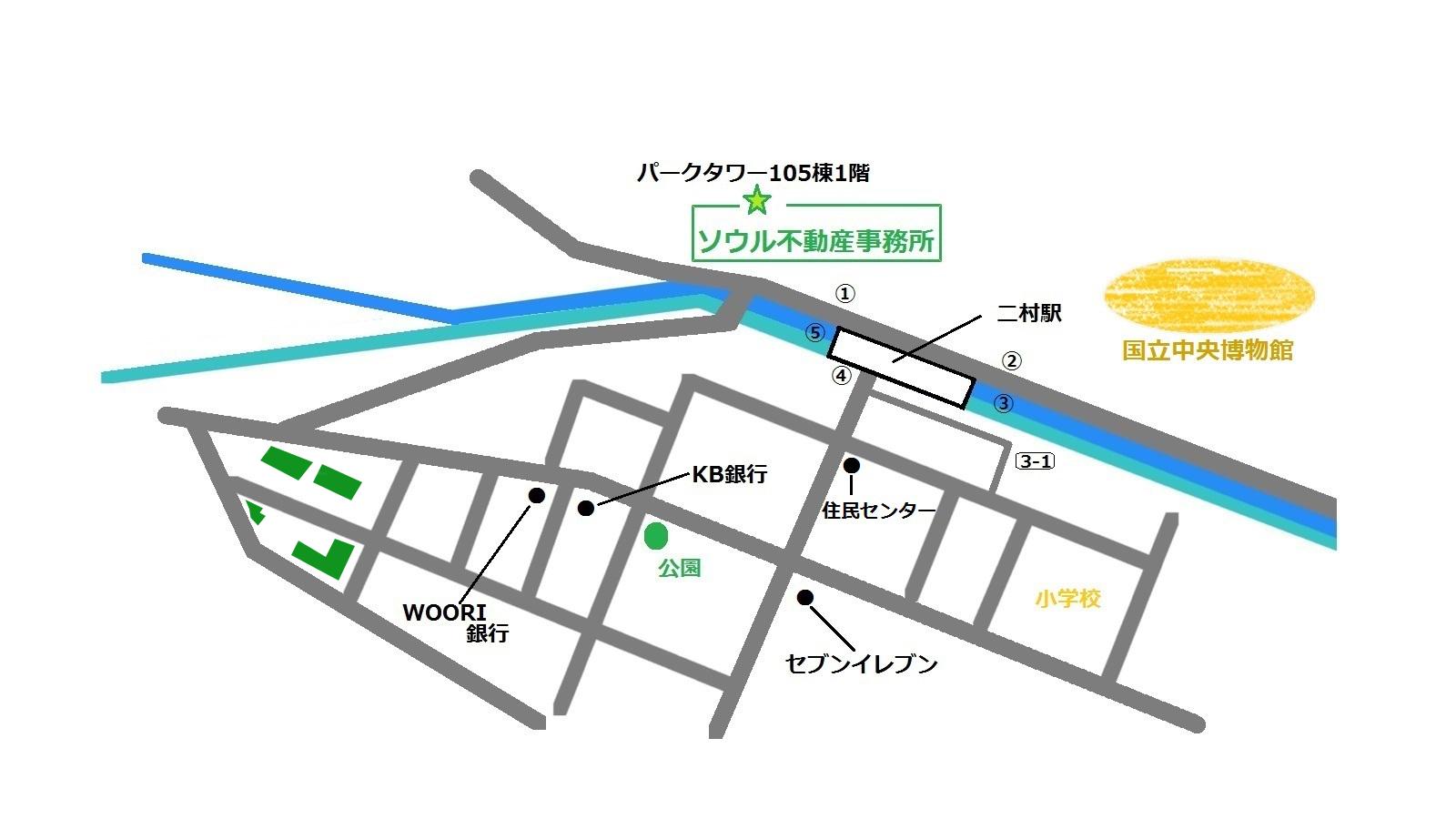 龍山 東部セントレビル 地図