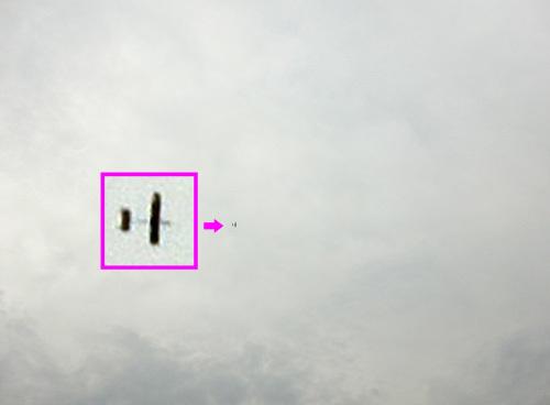 シーラカンス・ワン、飛行中 その2。