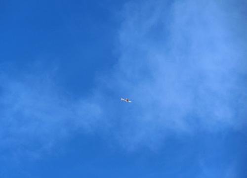 規定機、飛行中~! その1。
