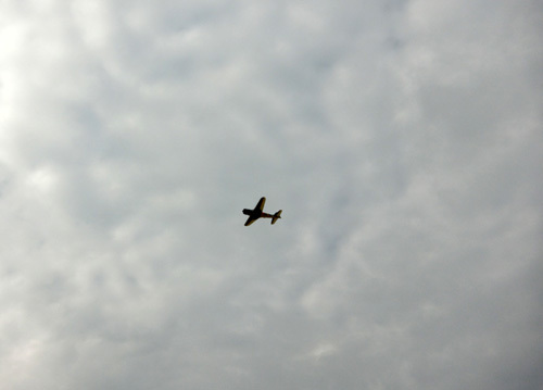 W400零戦飛行中~! その2。