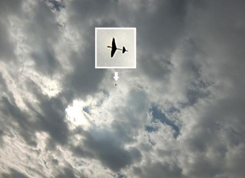 クルーザーX、飛んでるトコ。 その1。
