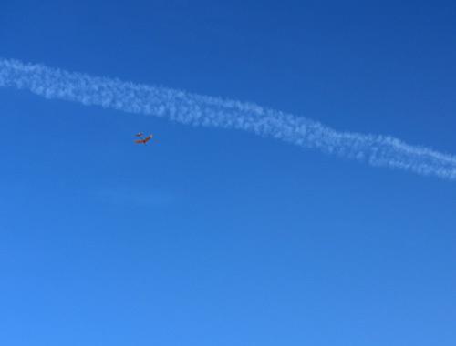 バルサのオバハン機、飛んでるトコ。 その3!