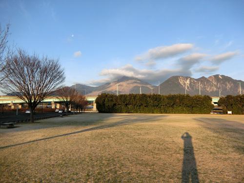 普賢岳には傘雲が・・・!