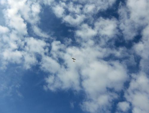 スタンダード・ワン、飛んでるトコ!その1。