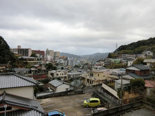 今朝もやはり雨の長崎~!