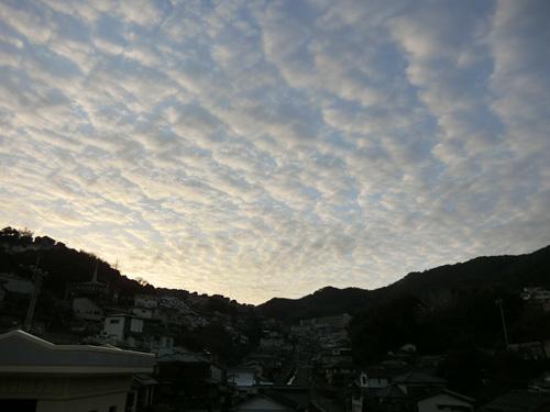 ウロコ雲!?