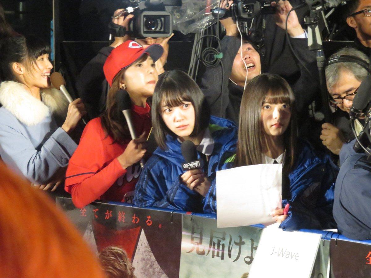 齋藤飛鳥 堀未央奈 映画『バイオハザード:ザ・ファイナル』レッドカーペットイベント