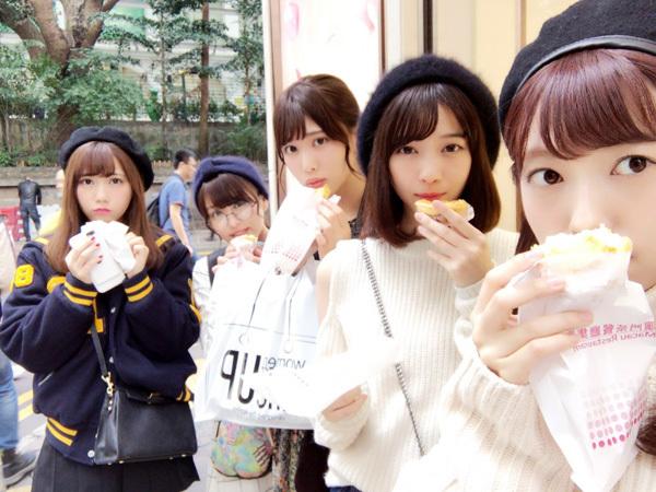 乃木坂46 スイカメンバー 正月休み 香港旅行
