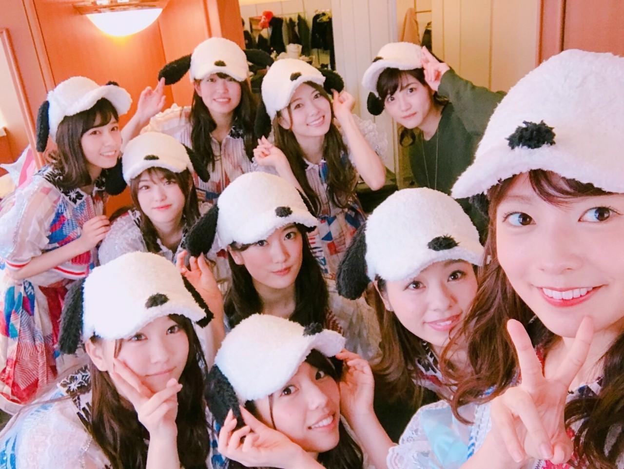 乃木坂46がUNIVERSAL STUDIOS JAPAN