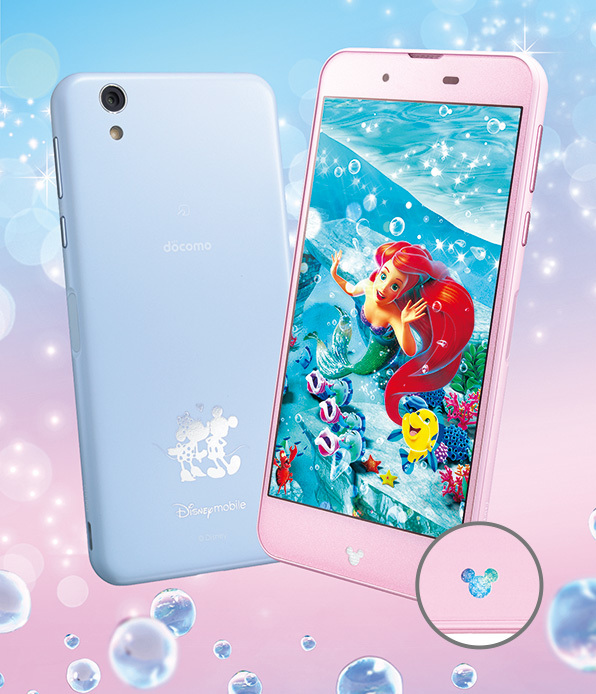 003_Disney Mobile on docomo DM-01J