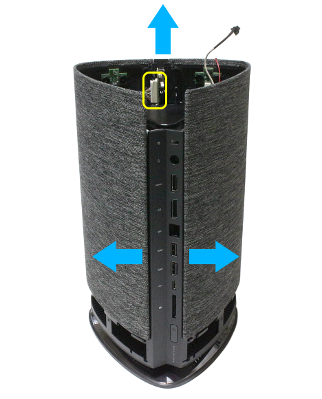 Wave 600-000jp_IMG_7427t_大きめのコネクター_カバーを持ち上げる